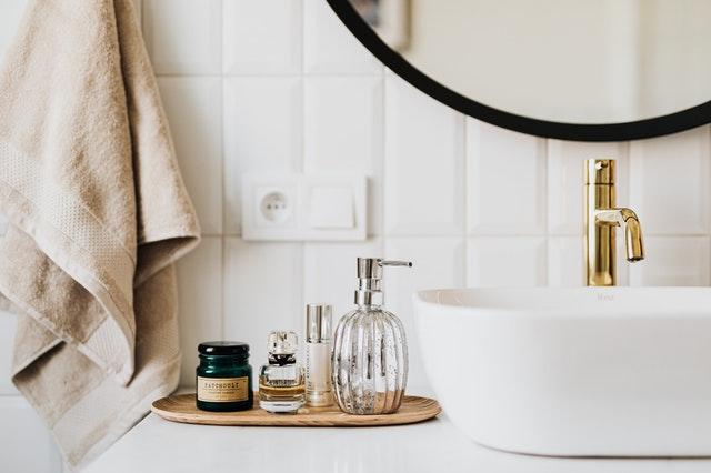 Details in de badkamer